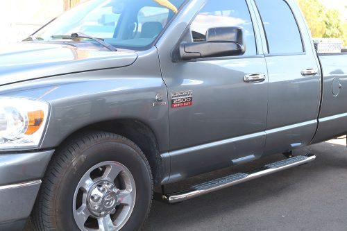 2002-2008 DODGE RAM 4 INCH OVAL NERF BARS