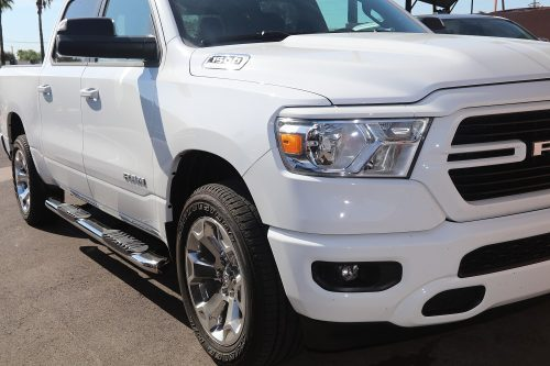 2019 Ram 1500 Running Boards chrome 5 inch oval