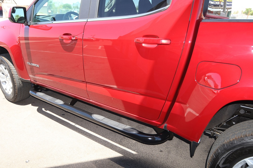CHEVY COLORADO 3 INCH BLACK NERF BARS