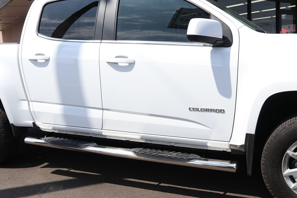 CHEVY COLORADO 5 INCH OVAL CREW CAB NERF BARS