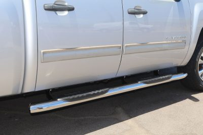 CHEVY SILVERADO 5 INCH OVAL SIDE STEPS