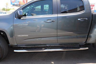 Chevy Colorado Crew Cab 5 Inch Oval Running Boards