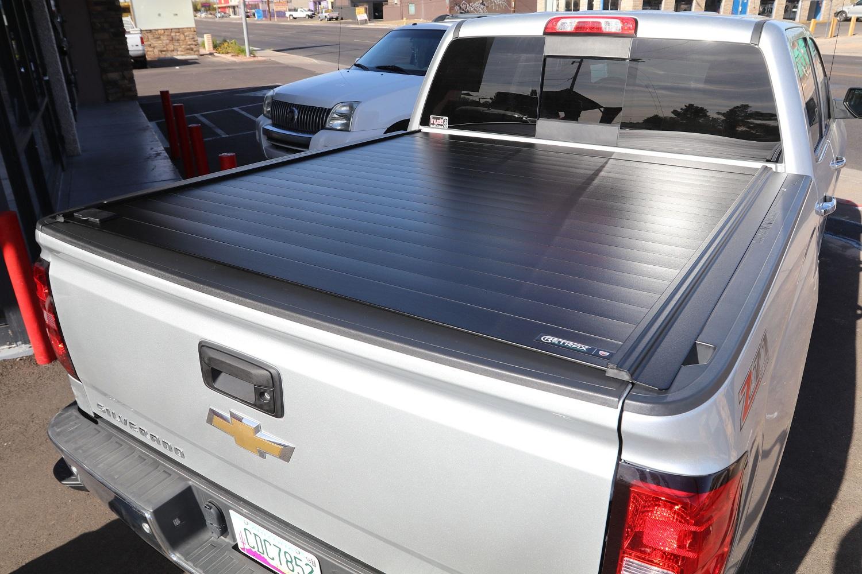 Chevy Silverado RetraxPRO MX Retractable Truck Bed Cover