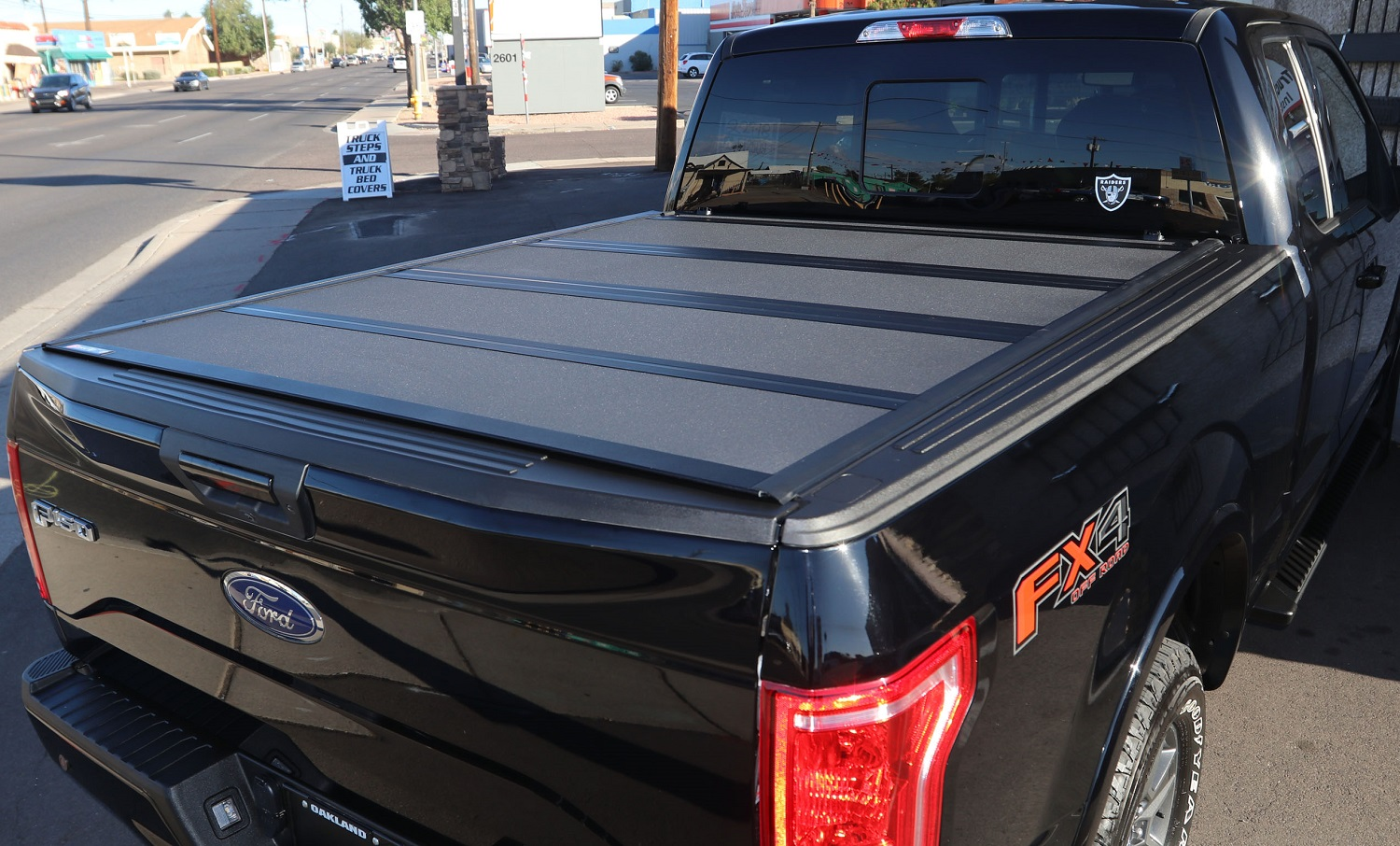 Ford F150 Standard Bed Tonneau Cover BAKFlip MX4