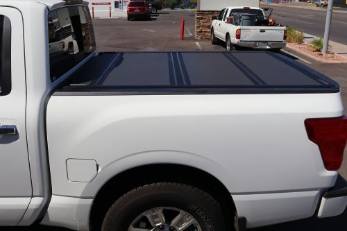 NISSAN TITAN BAKFLIP MX4 Hard Folding Tonneau Cover