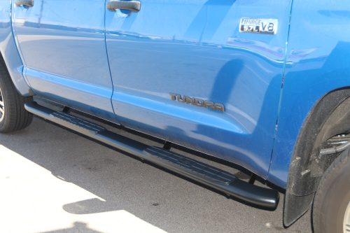 TUNDRA CREWMAX 4 INCH OVAL BLACK NERF BARS