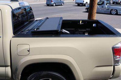 Toyota Tacoma BAKFlip MX4 hard folding truck bed cover