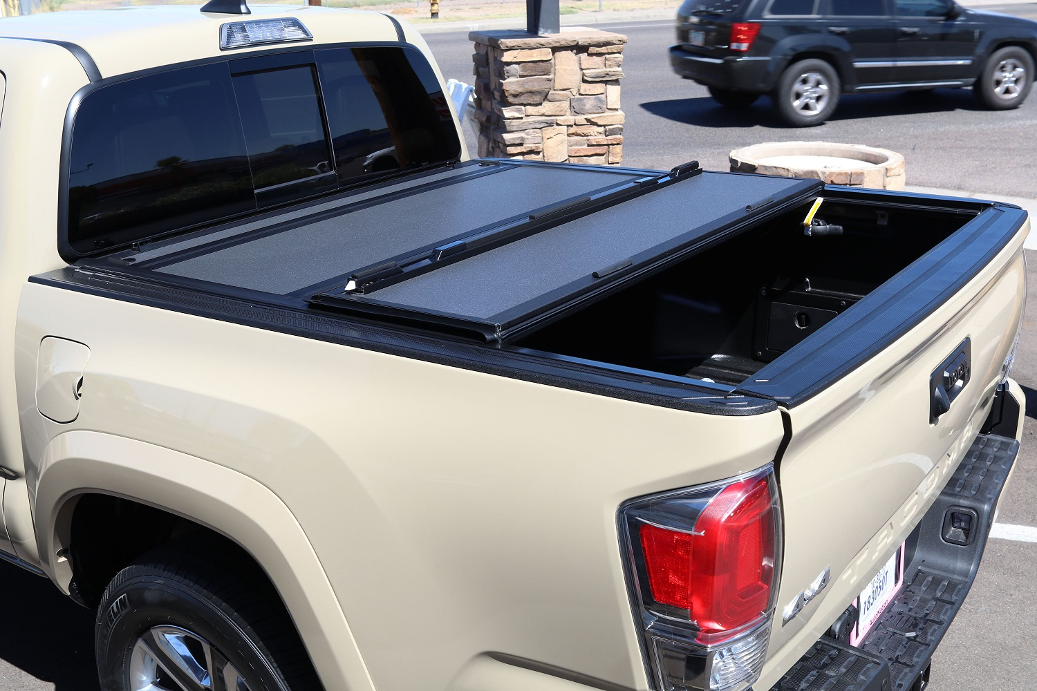 Toyota Tacoma BAKFlip MX4 hard truck bed cover