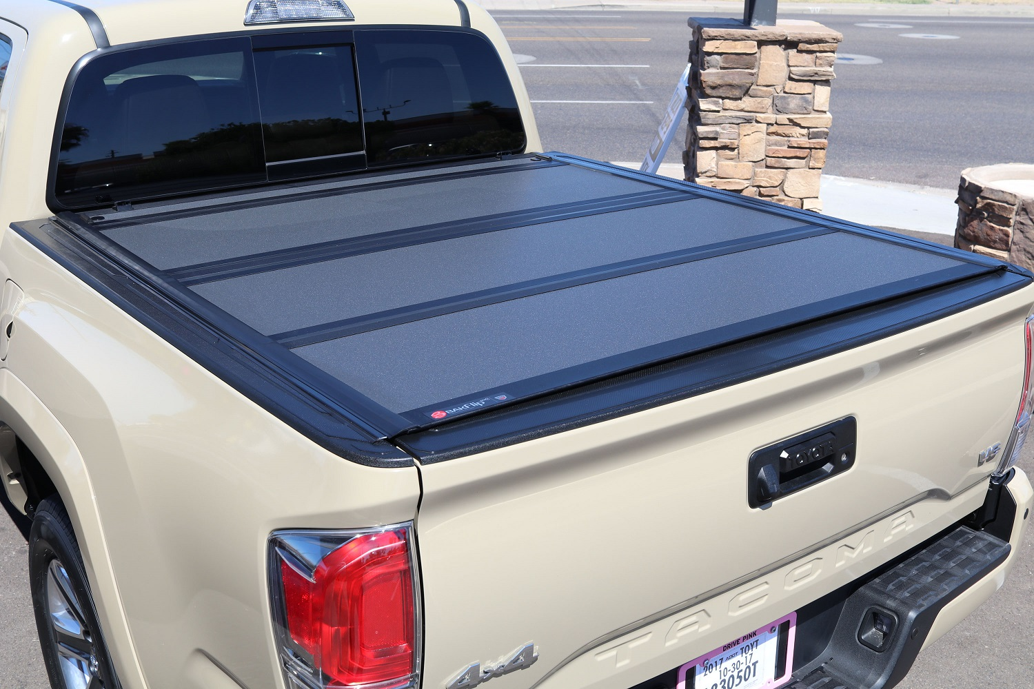 Toyota Tacoma BAKFlip MX4 truck bed cover