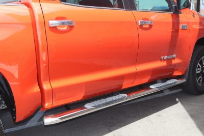 Toyota Tundra CrewMax 5 Inch Oval Nerf Bars