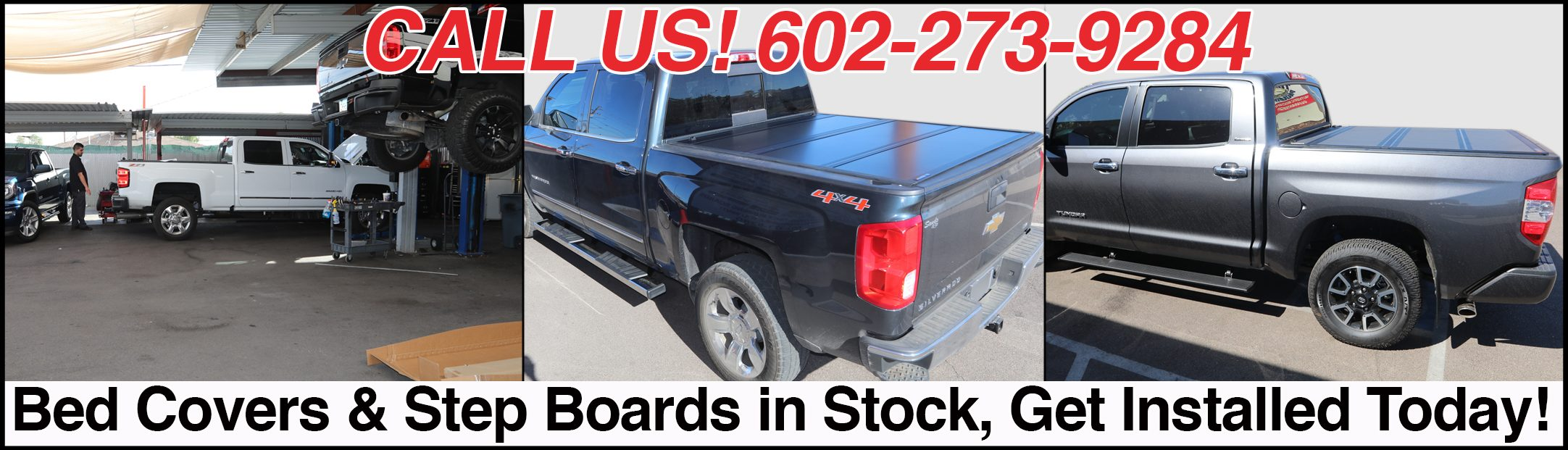 truck bed covers & running boards