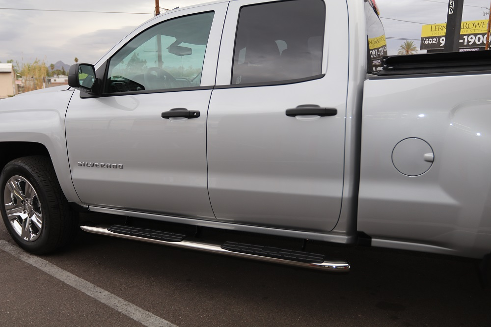 double cab side step nerf bars
