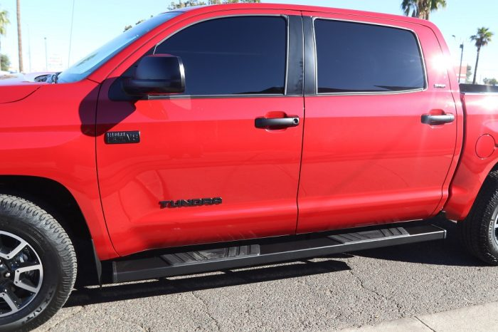 6 inch black running boards