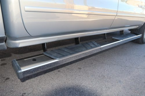 6 inch chrome running boards