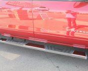 Chevy Silverado Crew Cab Running Boards 6 Inch Nerf bars