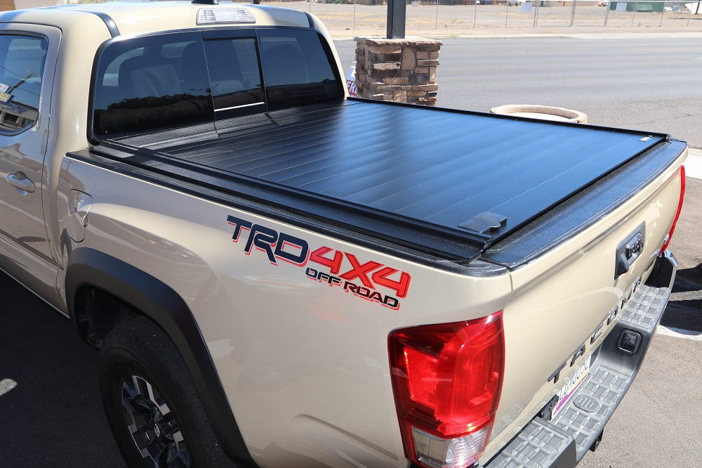 Toyota Tacoma Retrax Truck Bed Cover