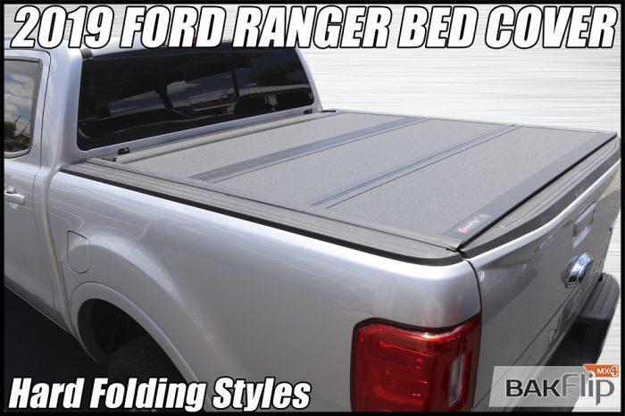 2019 Ford ranger hard folding tonneau cover bakflip mx4