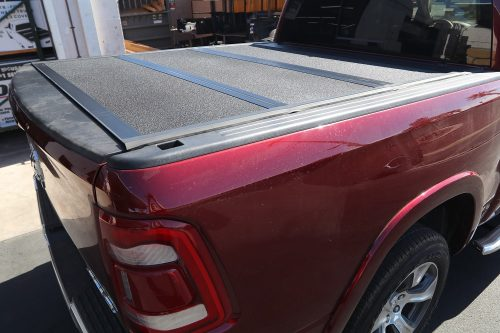 2019 RAM ARMOR FLEX HARD FOLDING TRUCK BED COVER