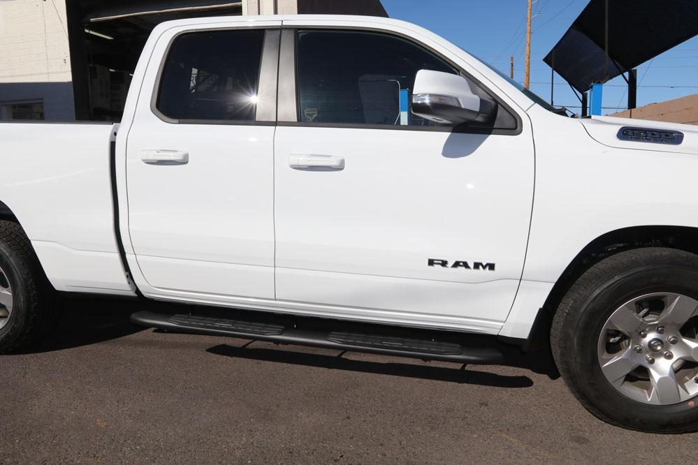 2019 ram quad cab 4 inch oval black nerf bars