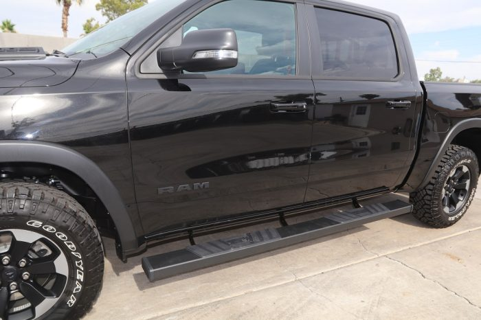 2019 ram running boards 6 inch steps