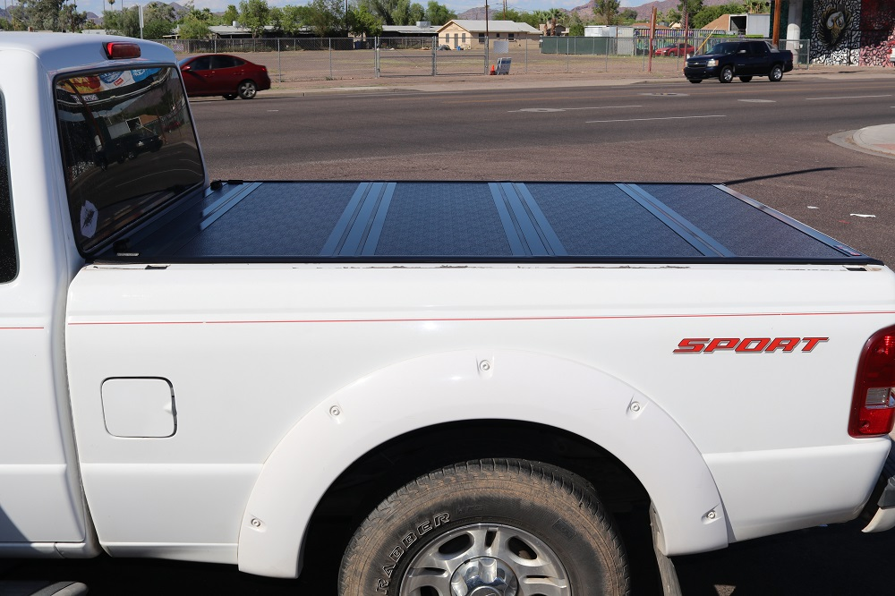 Ford Ranger Hard Folding Truck Bed Covers Truck Access Plus
