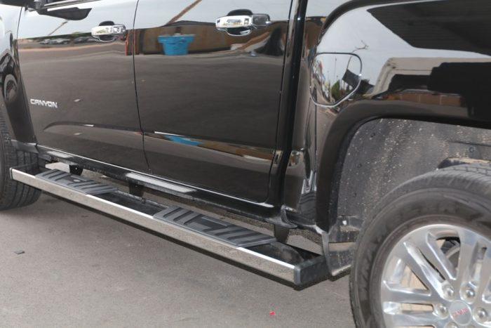 GMC CANYON NERF BARS - CHEVY COLORADO 6 INCH STEP BOARDS