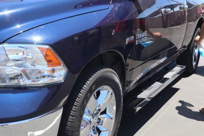 RAM QUAD CAB 6 INCH STEP BOARDS