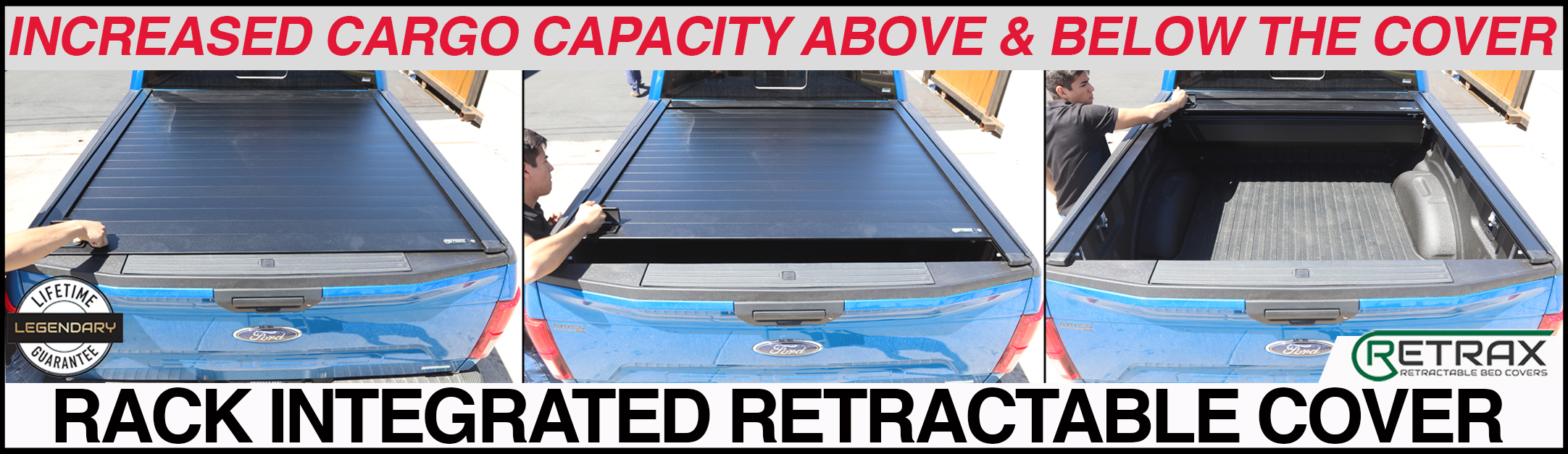 RETRAXPRO XR TONNEAU COVERS