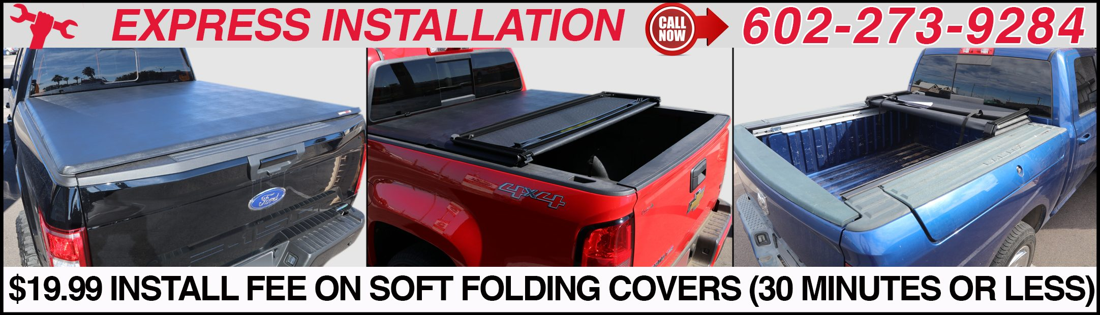 SOFT FOLDING TONNEAU COVERS IN ARIZONA