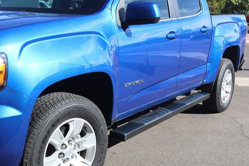chevy colorado crew cab running boards