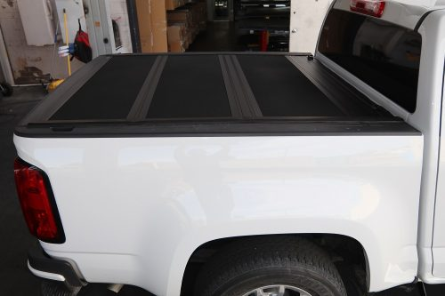 colorado hard folding tonneau cover undercover armor flex