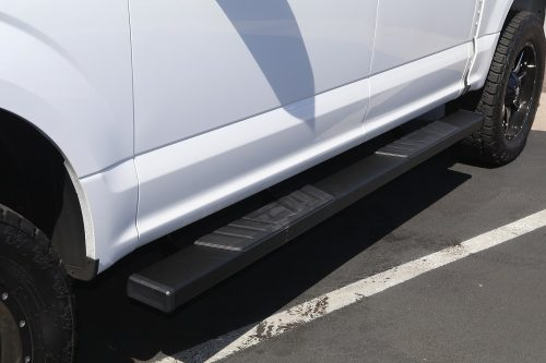 ford f150 6 inch black side step boards
