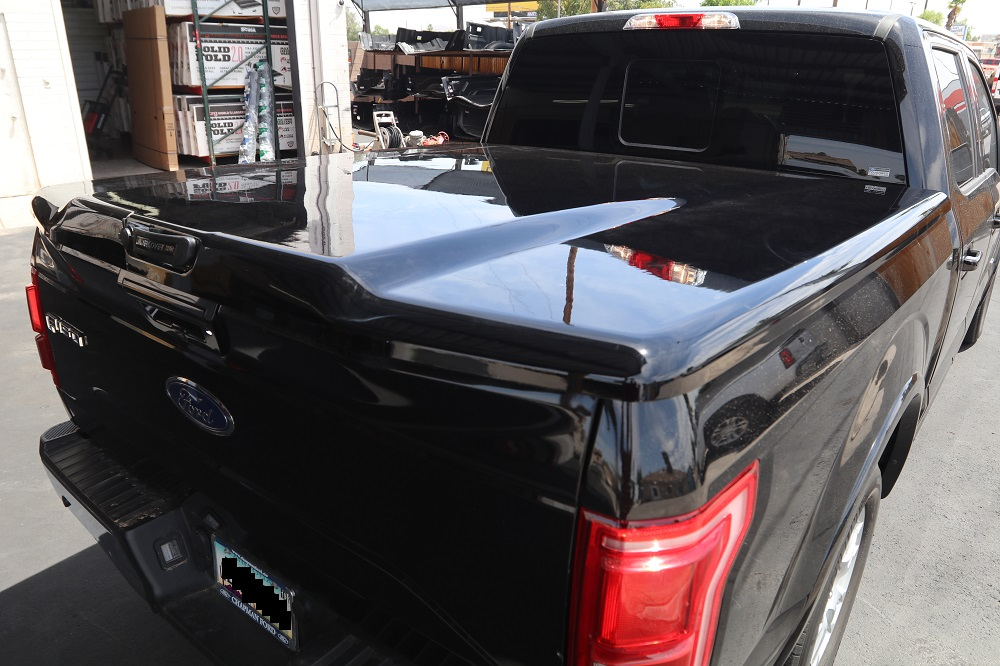 ford f150 undercover elite lx painted truck bed covers