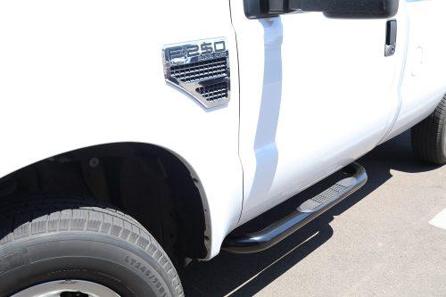 ford f250 3 inch black nerf bars regular cab