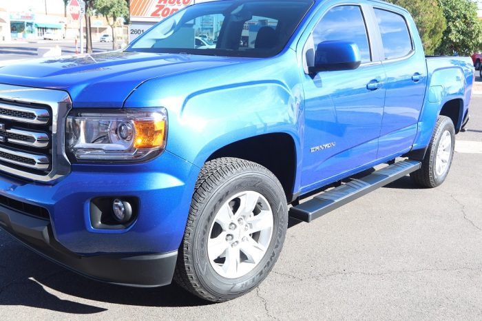 gmc canyon black side step boards