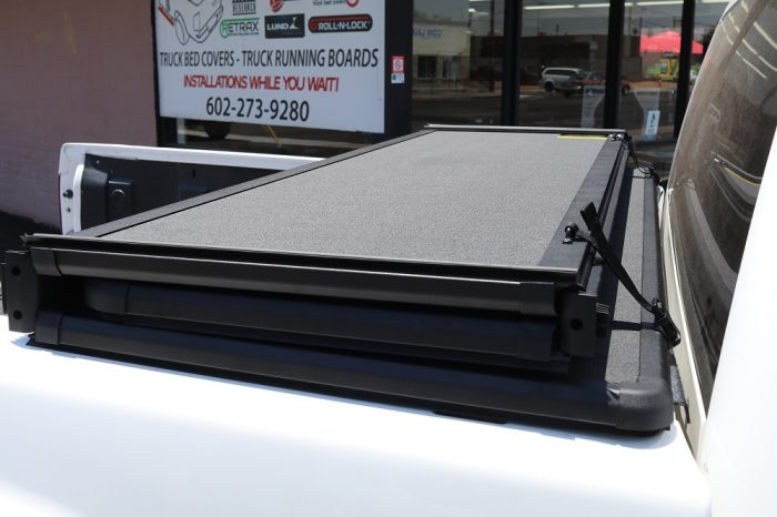 hard foldable tonneau cover for truck bed