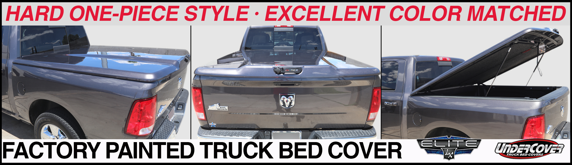 hard one piece truck bed covers