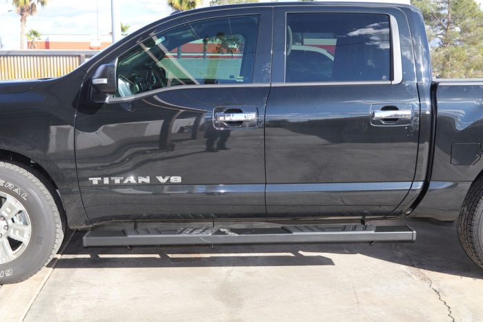 nissan titan 6 inch black SIDE boards