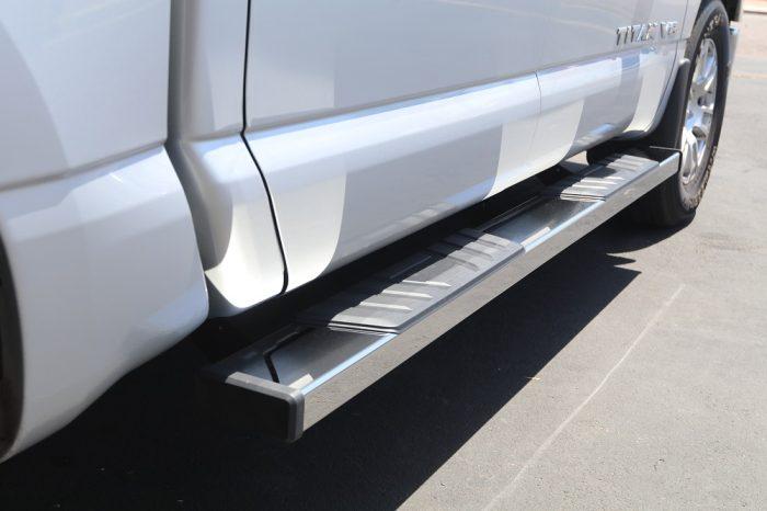 nissan titan 6 inch step boards stx500