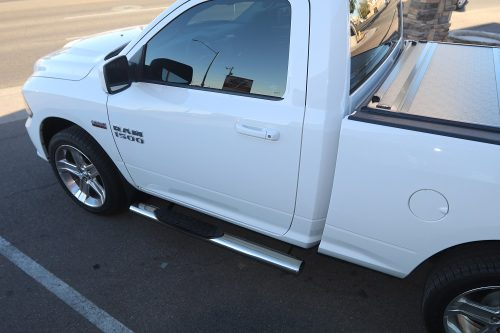 ram 1500 regular cab running boards