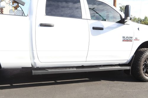 ram 2500 crew cab 6 inch black running boards