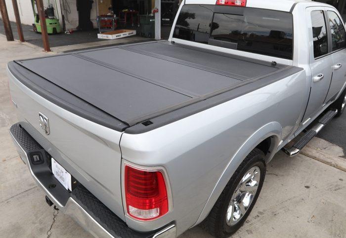 ram hard folding truck bed cover armor flex undercover