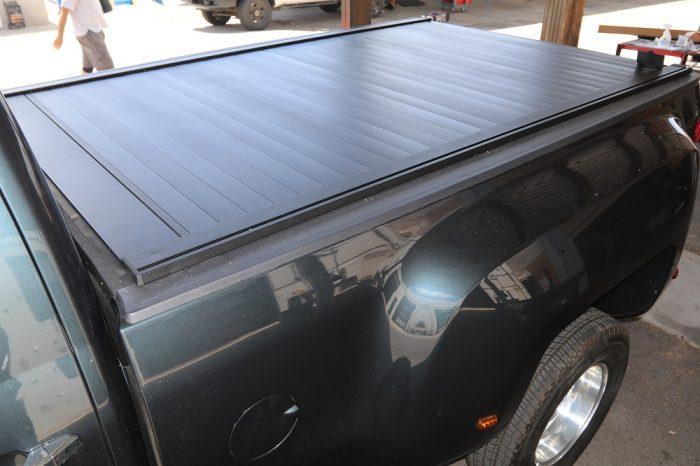 retraxpro xr rack integrated retractable truck bed cover