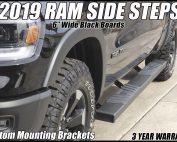 2019 ram side boards