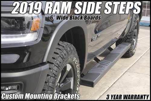 2019 ram side boards