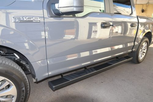 FORD F150 BLACK RUNNING BOARDS