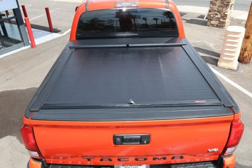 TOYOTA TACOMA ROLL N LOCK TRUCK BED COVER