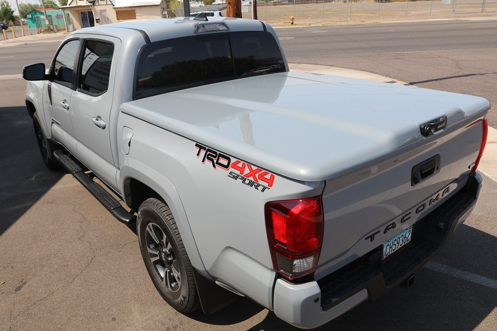 Tacoma Cement Tonneau Cover Elite LX by UnderCover