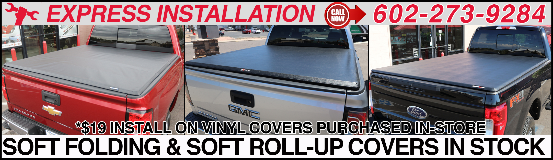 VINYL TRUCK BED COVERS IN ARIZONA
