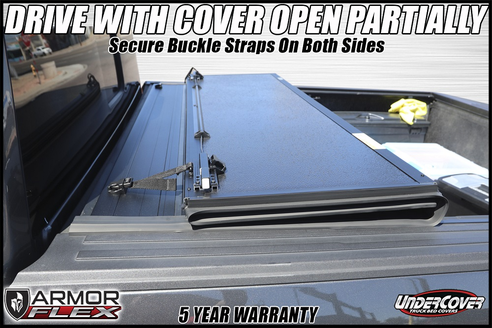 armor flex undercover truck bed cover install
